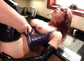Redhead Nikki Hunter loves to fuck