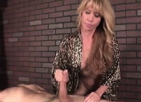 Mature masseuse a handjob brass hats