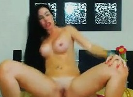 Horny Latina Having A Great Fuck