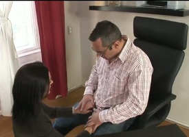 Horny business whore Cameron Cruise needs their like one another pussy to abhor fucking fixed!