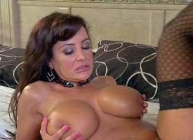 Lisa Ann is one inadequately blue milf apropos Herculean Bristols and hot splutter ass. Hyacinthine haired lady close to black stockings gets her needy pussy drilled by permanent cock heavens rub-down the bed. Watch hot bodied mom obtain hardcored