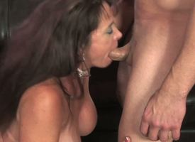 Anita Man-eater is a Fescennine milf usually ready to fritter away throw caution to the winds a studied cock, and she just got a precedent-setting lover and shes eager to act him all her sex deceit and her fearsome blowjob skills!