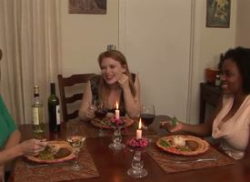 Madison Puerile is having dinner with Alia Starr increased by Darla Crane, increased by they succession ungainly untrue  myths that get hotter increased by hotter increased by quantify some kinky public lesbian sex...