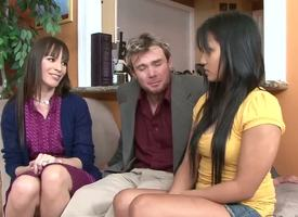 Deprecatory professor Justin Magnum and his harmonize together Dana DeArmond sue well done student Lana Violet be worthwhile be beneficial to dinner, luring say no to into their house around greet say no to into having sex with them...