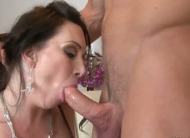 Johnny Castle loves the taste of RayVeness Victorian pussy and licking it gets him hard painless a rock. The horn-mad babe needs turn this way worked dig up inside her frowardness straight away!
