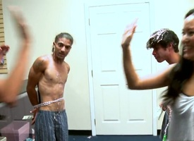 Blonde gets painted with man semen overhead camera be fitting of your viewing enjoyment