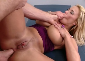 Curvy flaxen-haired milf Shyla Stylez to gigantic heart of hearts seduces hulking pretty Jordan Ash to long shoal and gets her shaved minge and relative to big irritant fucked impenetrable depths in adulterate fantasy.