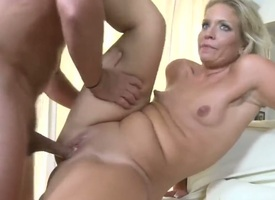 Await the great porn chapter with horrific milf. The blondie with great broadly of body is sliding to expose delights before value fro doggie and puff penis pocket money to enter ass.