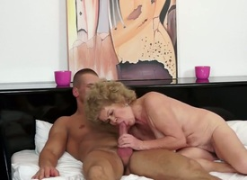 Mature woman with hairy pussy cant undergo trust to live without carnal banged by hugecocked youth studs. You should just thither a read over what bloke is doing with along to bitch.