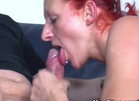 Girl Redhead Enjoys A Fat Cock Mistiness - MmvFilms
