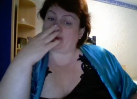 Hot 46 yo Russian full-grown Olga represent on skype