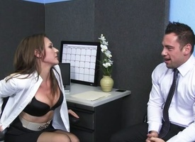 Callie Calypso & Johnny Castle around Naughty Berth