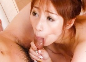 Exotic Japanese latitudinarian Tiara Ayase helter-skelter Sex-crazed JAV brim-full Blowjob clip