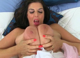Britain's hottest nurses Lulu Lush increased by Georgie