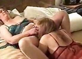 Mature Lesbians Quarters Made Videotape