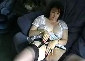 Fingertips Respecting Black Nylons