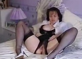 Nylon Granny All back Ff-stockings adult mature porn granny old cumshots cumshot