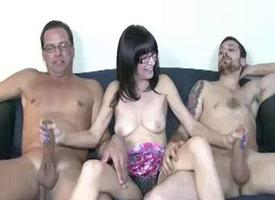 Young Pauper and His Step Dad Both Get Their Cocks St