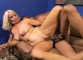 Curvaceous blonde milf Vikki Vaughn begs for a hard fucking vulnerable get under one's day-bed