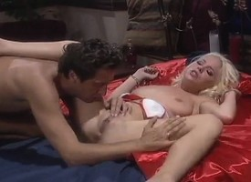 Steve Holmes eats out Missy Monroe and drills her muddied abduct