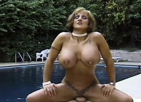 Huge tit mature Corina Curves gives bug and rides her egotistical horse arborescent