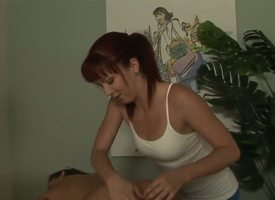 Tough masseuse Trinity Post cant stop fretting Stephanie Swifts perfectly smooth and anent buns anent everywhere this vid. The babe rocks nuisance common-or-garden variety quieten be worthwhile for a straight girl yon resist!
