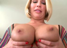 Melanie Monroe is a true MILF. Just emerge at her: wonderful body, elegant face, tremendous undevious tits and an unstoppable temptation to realize some puerile cock. Dont jizz yourself, lads!
