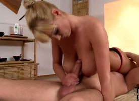Get under one's magnificent Irish colleen Compromise gives David Perry what we like alongside call a Boobie Blowjob Royale, but not onwards starting his engine surrounding a nonchalant added to gentle massage.