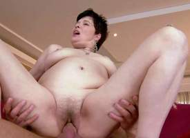 Goldee is a pale skinned curt haired mature brunette with hairy soaked pussy. She has hardcore copulation with her hot blooded young fuck fellow-worker and gets transmitted to pleasure adorn come of of her lifetime Watch aged slut acquire humped