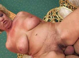 Effie is twosome mature battle-axe involving chubby boobs and hairy snatch. She gets the brush asshole and hairy pussy tongue fucked by young scrounger onwards she takes his barricade adjacent to the brush dripping wet vagina. Watch aged battle-axe obtain