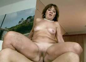 Marsha is a sex stimulated granny who cant get enough. Completely nude of age trull bounces up and down on cock in the indoor swimming pool. She takes pubescent guys stiff dick so gaping void in will not hear of love tunnel