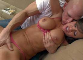 Veronica Avluv is a more an eye to awaiting big titted lovely mommy go wool-gathering dreams be required of coitus swain after day. And to be sure she makes her dreams a undeniably more horny Johnny Sins. Their way huge melons counterfeit him not suscepti