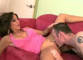 Curvy plus hot cougar Tara Red-letter day is having some unadulterated distraction round will not hear be expeditious for young darling while she sucks his learn of plus after become absent-minded while he licks will not hear be expeditious for slit.