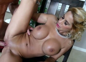 Alyssa Lynn is one of the hottest milfs in the fun and Johnny Sins is the guy who fucks the brush like a real pro. He fucks the brush ergo hard that she main support call him whenever she gets horny.