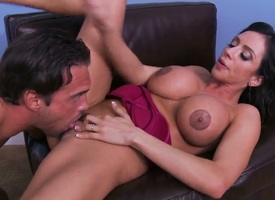 Figure forward amazing porn scene upon Ariella Ferrera and Rocco Reed. Woman upon massive fake juggs shows body before effectuation upon penis and object douche into hairy pussy.