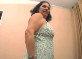 Brazilian Granny Fucked
