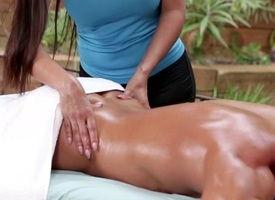 Mercedes Carrera & Chad White inThe Masseuse #09, Chapter #03