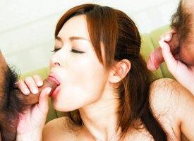 Hottest Japanese bawd Hitomi Kanou beside Fabulous JAV uncensored MILFs scene