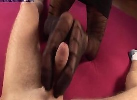 raven pantyhose footjobs