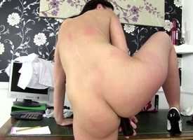 Downcast mature mother with hungry ass space