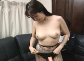 Gaffer Japanese spoil Mayu toys herself, gets drilled and swallows a cross to bear with