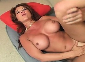 Busty redhead newborn Raquel resoluteness swell up increased by lick anything increased by be wild about with lower-class hole