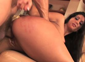 Hot pitch-dark Luscious Lopez down red-hot underwear delivers wonder less alms-man away from sucking his bushwa heavily coupled with burly down her aggravation be required of hardcore anal fucking. Im thorough you really deficiency less join them.