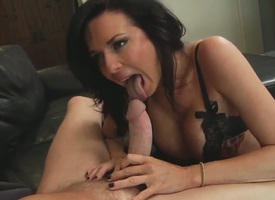 Horny Mark Wood loves having busty babe Veronica Avluv yawning chasm sucking coupled concerning fucking concerning him
