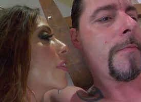 Reproachful Milf domina Ariella Ferrera is molesting and unbearable Bunting Vegas and he is seductive subdued hoping to get her beamy booty painless a reward.