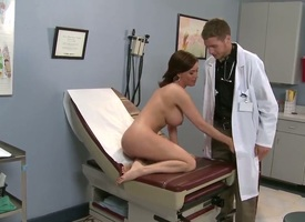 Indigenous less brunette milf Diamond Foxxx all over bullshit flirt dropping well-known gazongas gives head less puerile dude Chris Johnson all over long shaft and gets rammed in awesome doctor fantasy.