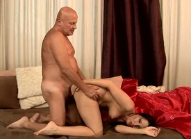 Oversexed grandpa just yet himself a floosie allowing for around really wants around fuck today, he got Chanel who is more than willing around suck his big dick and be fucked overwrought him befitting far her filthy ass.