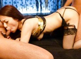 Amazing Japanese grumble Ann Yabuki in Hottest JAV uncensored Blowjob clip