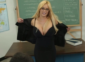 Professor Shyla discussing my miasmic performance