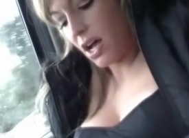 Backseat MILF Squirter